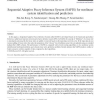 Sequential Adaptive Fuzzy Inference System (SAFIS) for nonlinear system identification and prediction