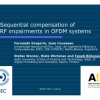 Sequential Compensation of RF Impairments in OFDM Systems