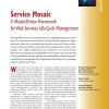 Service Mosaic: A Model-Driven Framework for Web Services Life-Cycle Management