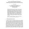 Service-oriented Knowledge Architectures - Integrating Learning and Business Information Systems