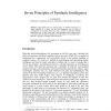 Seven Principles of Synthetic Intelligence