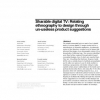 Sharable digital TV: relating ethnography to design through un-useless product suggestions