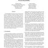Sharing end-user negative symptoms for improving overlay network dependability