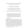 Shear strength prediction using dimensional analysis and functional networks