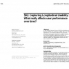 SIG: capturing longitudinal usability: what really affects user performance over time?