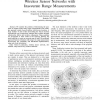 Simple Algorithm for Outdoor Localization of Wireless Sensor Networks with Inaccurate Range Measurements