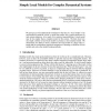 Simple Local Models for Complex Dynamical Systems