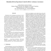 Simulation Driven Experiment Control in Driver Assistance Assessment