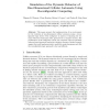 Simulation of the Dynamic Behavior of One-Dimensional Cellular Automata Using Reconfigurable Computing