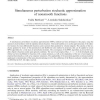 Simultaneous perturbation stochastic approximation of nonsmooth functions