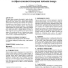 Single and multi-objective genetic operators in object-oriented conceptual software design
