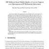 SIP Multicast-Based Mobile Quality-of-Service Support over Heterogeneous IP Multimedia Subsystems