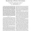 SLA-Aware Adaptive On-demand Data Broadcasting in Wireless Environments