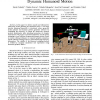 Smooth Collision Avoidance: Practical Issues in Dynamic Humanoid Motion