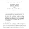 SNMS - Shadow Network Management System