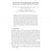 Social-Aware Forwarding Improves Routing Performance in Pocket Switched Networks
