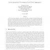 Social Information Processing in Social News Aggregation