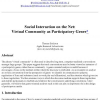 Social Interaction on the Net: Virtual Community as Participatory