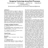 Socio-technical walkthrough: designing technology along work processes