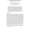 Soft Computing Approach to Performance Analysis of Parallel and Distributed Programs