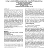 Soft memory for stock market analysis using linear and developmental genetic programming