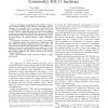 Soft-TDMAC: A Software TDMA-Based MAC over Commodity 802.11 Hardware