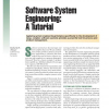 Software System Engineering: A Tutorial