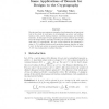 Some Applications of Bounds for Designs to the Cryptography
