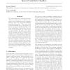 Sparse probabilistic classifiers