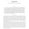 Sparsity Enhanced Decision Feedback Equalization