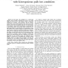 Spatial Opportunity for Cognitive Radio Systems with Heterogeneous Path Loss Conditions