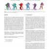 Spatial relationship preserving character motion adaptation