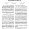 Spatial-Temporal Characteristics of Internet Malicious Sources