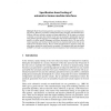 Specification based testing of automotive human machine interfaces
