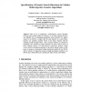 Specification of Genetic Search Directions in Cellular Multi-objective Genetic Algorithms