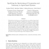 Specifying the intertwining of cooperation and autonomy in agent-based systems