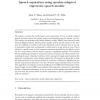 Speech separation using speaker-adapted eigenvoice speech models
