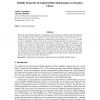 Stability Properties of Empirical Risk Minimization over Donsker Classes