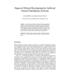 Stages of Ethical Development in Artificial General Intelligence Systems