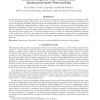Statistical amplitude scale estimation for quantization-based watermarking