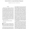 Statistical Models for Assessing the Individuality of Fingerprints