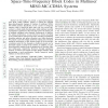 Statistical Precoder Design for Space-Time-Frequency Block Codes in Multiuser MISO-MC-CDMA Systems