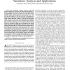 Statistical Thermal Profile Considering Process Variations: Analysis and Applications