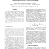 Statistical timing analysis with path reconvergence and spatial correlations