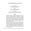 Stereo Vision and 3D Reconstruction on a Distributed Memory System