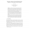 Stochastic Analysis of Graph Transformation Systems: A Case Study in P2P Networks