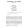 Stochastic Counting in Sensor Networks, or: Noise Is Good