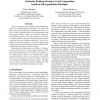 Stochastic Problem Solving by Local Computation Based on Self-Organization Paradigm