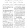 Storage Management for Evolving Databases