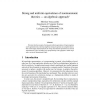 Strong and uniform equivalence of nonmonotonic theories - an algebraic approach